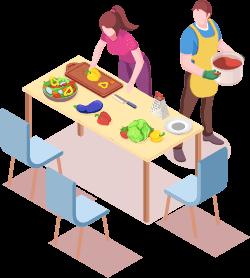 料理教室など